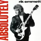 Rik Emmett ~ Absolutely (album art)