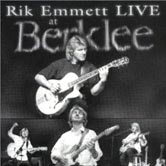 Rik Emmett LIVE At Berklee  (artwork)
