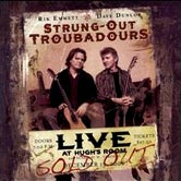 Strung-Out Troubadours ~ Live at Hugh's Room (album art)